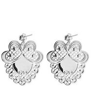 *-30%* BE CHIC bijoux ORECCHINI perno Romantic Lace lucido earrings no Sodini