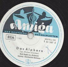 Geschwister Hofmann  mit dem Rudi Knabl Orchester : Das Alphorn