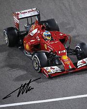 Fernando alonso #3 (ferrari) - 10X8 pré imprimé de qualité labo photo print