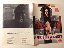 LA FURIE DES VAMPIRES (La noche de Walpurgis) SYNOPSIS Original Paul NASCHY 1971