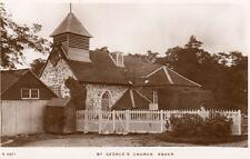 St George's Church Esher unused RP old pc WHS Kingsway