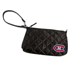New Montreal Canadians Quilted Wristlet Clutch Purse  TOO CUTE  MSP $29    G03
