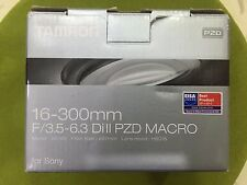 Tamron 16-300mm 1:3,5-6,3 Di II PZD Macro for Sony