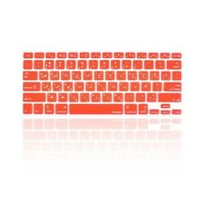 """Arabic / English RED Silicone Keyboard Cover skin for Macbook Pro 13"""" 15"""" 17"""""""
