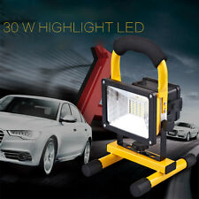 30W LED IPX6 Portable  Flood Light Outdoor Rechargeable Spotlight Lamp Camping