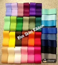 "3/8"" 100 yard grosgrain ribbon solid color mix mixed lot wholesale bow supplies"