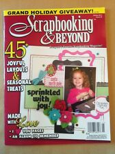 Scrapbooking & Beyond Holiday Christmas Fall Treats papercraft #45 FREE SHIPPING