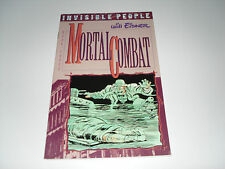 Invisible People Book 3 Mortal Combat :  VFN