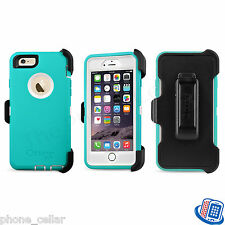 New OEM Otterbox Defender Series Seacrest Teal Shell Case for Apple iPhone 6/6S