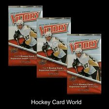 (HCW)  2010-11 Upper Deck Victory Hockey Hobby Pack x3 Lot - Hall, Eberle & More