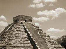 ART PRINT POSTER PHOTO LANDMARK ANCIENT PYRAMID CHICHEN ITZA LFMP1191