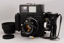 【Exc+】 Mamiya Press Super 23 Black W/ 6x9 FilmBack,Grip,100mm f3.5 From Japan