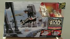 STAR WARS MICRO MACHINES ICE PLANET HOTH ACTION FLEET SET GALOOB 1995 67091