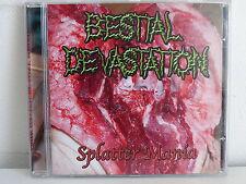 CD ALBUM BESTIAL DEVASTATION Splatter mania DSR 041