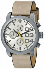 Diesel Women's DZ5462 'Flare' Chronograph Brown Leather Watch