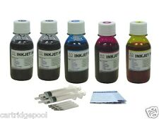 Refill ink kit for HP27 28:Deskjet 1315v 1315xi 1317 1318 2100 2170 2200 5x4oz/s