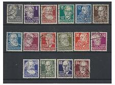 Germany (Russian Zone) - 1948 Politicians set - F/U - SG R35/48