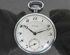 ◆100% Authentic MOVADO Hand Winding Pocket Watch 15Jewels 4Adjust Swiss Made VTG