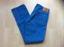 Ladies Blue Vintage Corduroy LEVIS Jeans, Size: W - 29    L - 32