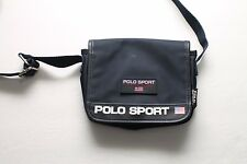 Vintage Polo Sport Ralph Lauren Cross Body Bag RubberFlag Shoulder Purse