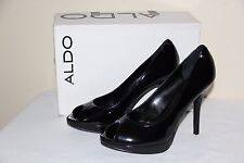 NEW Aldo Sliney Womens Platform Stylish Black Shoes HIGH Heels Size US 10/EUR 41
