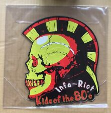 """INFA RIOT -KIDS OF THE 80s (NEW 10"""" VINYL SHAPED PICTURE DISC) -CTA7006 / PPR045"""