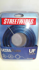 StreetWires UFX820B 20ft.of 8 Gauge Ultra Flow Series Blue Power/Ground Cable