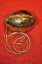 Judith Leiber Vintage  Gold Egg Minaudière purse in excellent condition