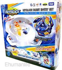 NEW Takara Tomy Beyblade Burst System B-38 Entry Set with Beylogger Bey Stadium