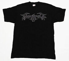 New Finntroll Logo T-Shirt Mens Size Small Heavy Metal Band