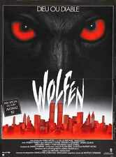 Wolfen Poster 02 A3 Box Canvas Print
