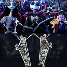 Lovers Neacklace The Nightmare Before Christmas Necklaces Jack & Sally Pendants