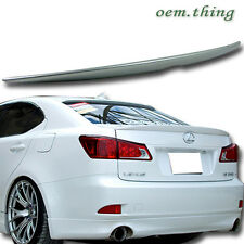 """SHIP OUT TODAY"" Painted For Lexus IS250 OE ABS Rear Boot Trunk Spoiler 12 #1G0"