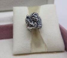 New w/Box Pandora Sterling Silver Safari Charm #791360 Africa Zoo Zebra Lion