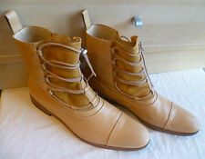 Mr Hare cuir complet bottines uk 11 46 marron tuscan laced chukka box 12 sacs