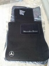 OEM GENUINE MERCEDES BENZ CARPET FLOOR MATS BLACK W126 SEL 560SEL 420SEL 300SEL