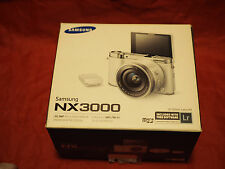 Used Samsung NX3000 Smart Camera (Body Only AND EXTERNAL FLASH ) -Black