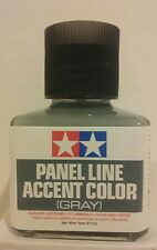 Tamiya Grey panel line accent color