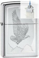 Zippo 21069 birds of prey chrome Lighter & Z-PLUS INSERT BUNDLE