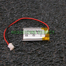 Lithium Ion Polymer 3.7v Rechargeable Battery 300mAh Project Arduino LiPoly Y23