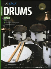Rockschool Drums Grade 2 2012-2018 Exam Sheet Music Book with Audio Download
