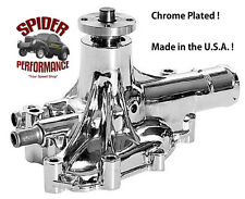 1979-1985 Mustang 5.0L CHROME water pump new not rebuilt MADE IN USA