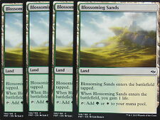 XXX 4x BLOSSOMING SANDS englisch fate reforged (lifegain dual land) NM/MINT XXX
