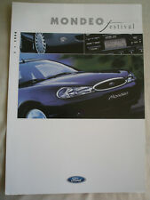 Ford Mondeo Festival brochure May 1998 German text