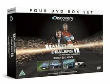 WHEELER DEALERS BRITISH CLASSICS MGB GT JAGUAR TRIUMPH JENSON INTERCEPTOR 4 DVDS