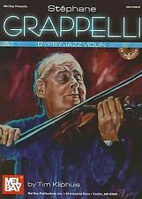 Mel Bay Presents Stephane Grappelli Gypsy Jazz Violin, Tim Kliphuis, Good Condit