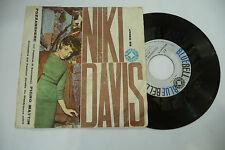 """NIKI DAVIS""""POZZANGHERE-disco 45 giri BLUEBELL It 1961"""" SANREMO"""