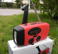 Emergency Wind up/Dynamo/Solar Powered FM/AM Radio Charger for Samsung HTC Phone