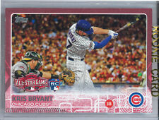 2015 topps update kris bryant pink parallel RC 1/50 Cubs US242