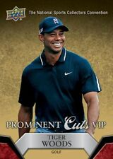 Tiger Woods 2014/15 2015 Upper Deck UD national convention VIP prominent cuts